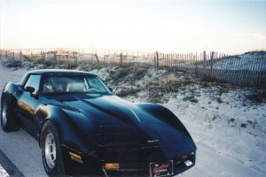 Jamie's Corvette