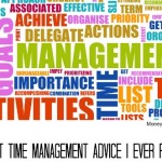 Time Management Concept as a Abstract Background