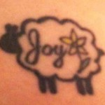 Susan sheep tattoo