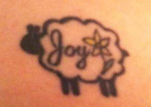God's symbolic language tattoo interpretation sheep