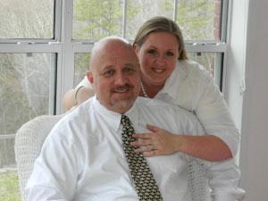 Bill Marion and Caroline