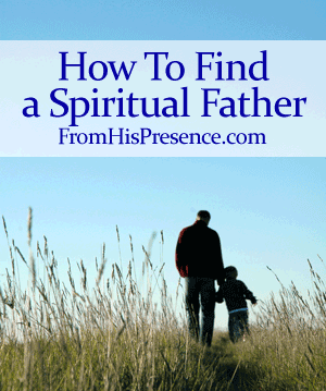 How to find a spiritual father