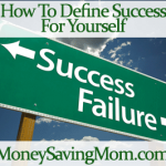 how to define success for yourself