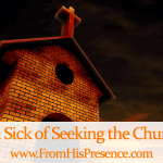 Sick of seeking the church. Image courtesy of Salvatore Vuono / freedigitalphotos.net
