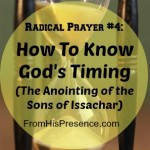 the anointing of the sons of Issachar