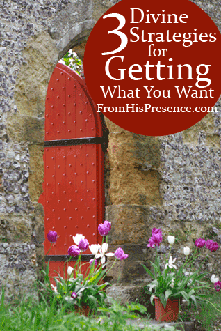 3 Divine Strategies For Getting What You Want by Jamie Rohrbaugh