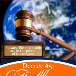 5 Prophetic Decrees of Abundance Over Your Life: Decree #5: Fullness of Your Eternal Destiny | Jamie Rohrbaugh | FromHisPresence.com