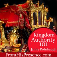 Kingdom Authority 101 workshop by Jamie Rohrbaugh