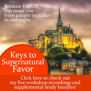 Keys to Supernatural Favor live workshop by Jamie Rohrbaugh | FromHisPresence.com