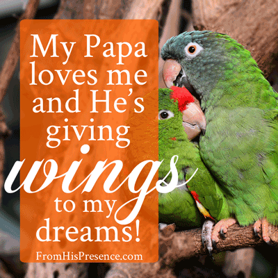 How to give wings to your dreams from his presence 174