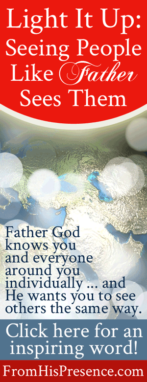 Seeing People Like Father God Sees Them   Guest Post by Bobbi Schaeperkoetter