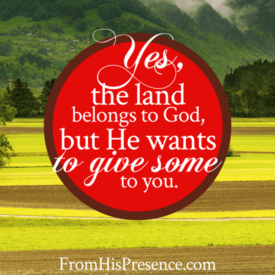 Radical Prayer #12: Pray for Land Inheritances | by Jamie Rohrbaugh | FromHisPresence.com