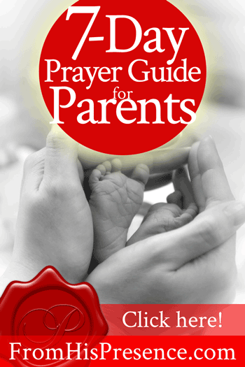 7-Day Prayer Guide for Parents | Jamie Rohrbaugh
